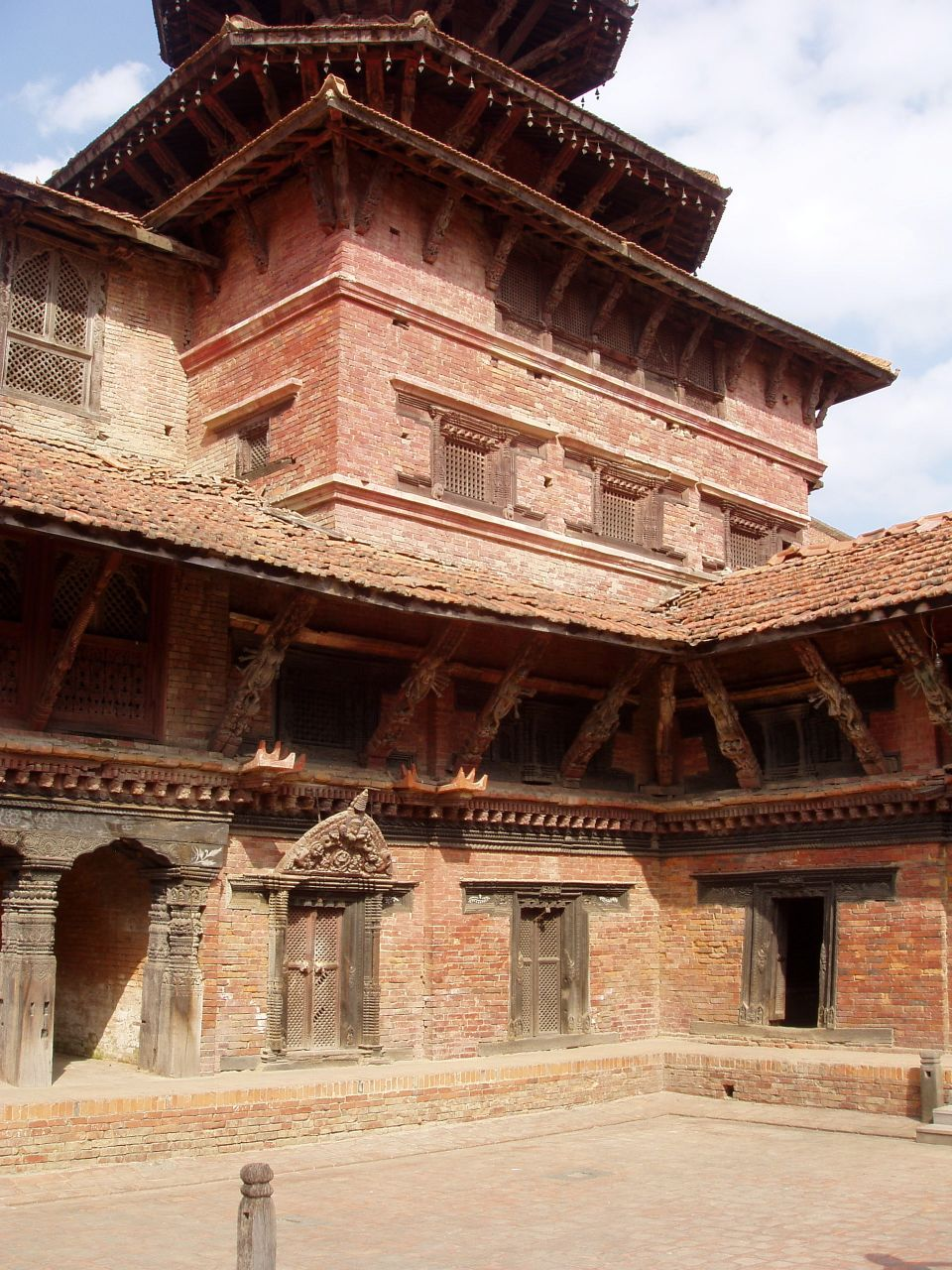 Palais royal « Durbar Square » (place royale) de Patan.