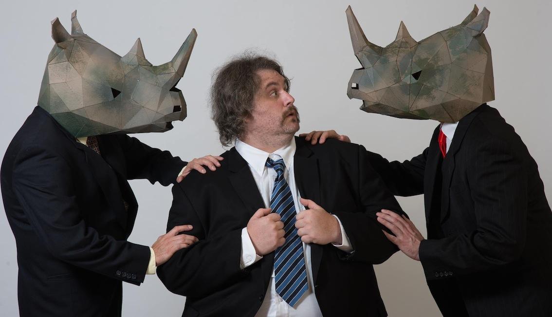 Rhinocéros d'Eugène Ionesco, Foley's Fringe Binge 2014.